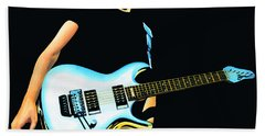 Joe Satriani Painting Beach Towel