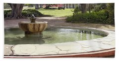 La Purisima Fountain Beach Sheet