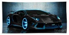 Lamborghini Beach Sheet