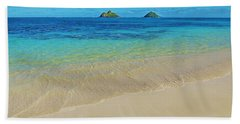 Beach Towel featuring the photograph Lanikai Paradise by Kristine Merc