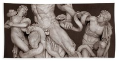 Laocoon And His Sons Beach Towel