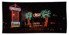 Las Vegas 1983 Beach Towel