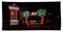 Las Vegas 1983 #2 Beach Towel