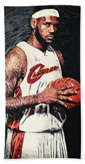 Lebron James Beach Towel