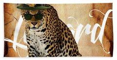 Leopard Collection Beach Towel