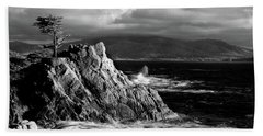Lone Cypress On The Coast, Pebble Beach Towel