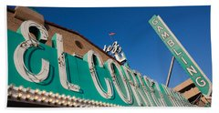 Low Angle View Of Sign Of El Cortez Beach Towel