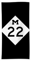 M 22 Beach Towel