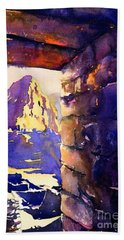 Machu Picchu Beach Sheet by Ryan Fox