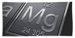 Magnesium Chemical Element Beach Towel