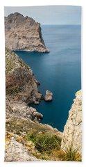 Mallorca View Beach Towel