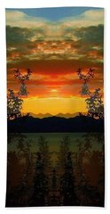 Beach Towel featuring the photograph Marsh Lake - Yukon by Juergen Weiss