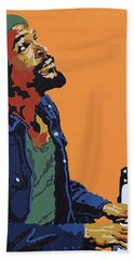 Marvin Gaye Beach Towel