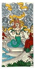 Melusine Legendary Creature Beach Towel