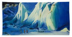 Mendenhall Glacier Alaska Beach Towel