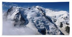 Mont Blanc - France Beach Towel