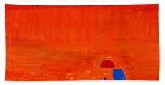 Monument Valley Original Painting Beach Towel