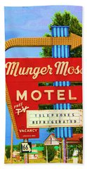 Munger Moss Motel Beach Towel