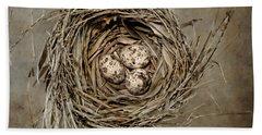 Birds Nest Beach Towels