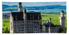 Neuschwanstein Castle - Bavaria - Germany Beach Sheet