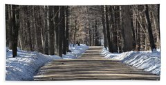 Nh Back Roads Beach Towel