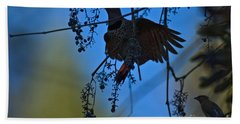 Northern Flicker Beach Towel