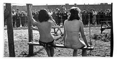 Nudes At 1939 Ny World's Fair Beach Towel