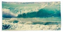 Ocean In Motion Beach Towel