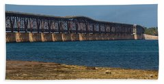 Old Bahia Honda Bridge Beach Towel