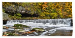 Olmstead Falls Ohio Beach Towel