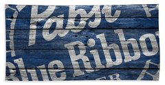 Pabst Blue Ribbon Beach Towel