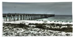 Panama City Beach Beach Sheet by Debra Forand