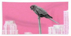 Parrot Beach Towel by J Anthony