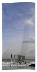 Pier Sky Beach Towel