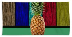 Pineapple Beach Towel by Marvin Blaine