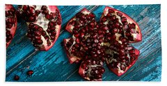 Pomegranate Beach Towel