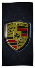 Porsche Logo Beach Towel
