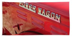 Power Wagon Beach Towel