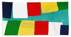 Prayer Flags Beach Towel