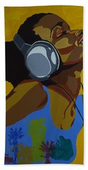 Rhythms In The Sun Beach Towel
