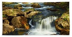 River Rapids Beach Towel
