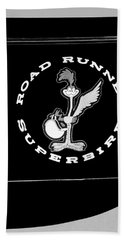 Road Runner Superbird Emblem Beach Sheet by Jill Reger