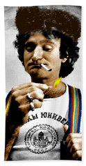 Robin Williams And Quotes Beach Towel