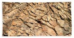 Beach Towel featuring the photograph Rock Wall by Henrik Lehnerer
