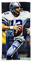 Roger Staubach Beach Sheet