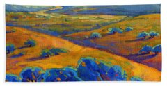 Rolling Hills 1 Beach Towel