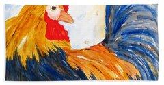 Rooster Beach Sheet by Carlin Blahnik