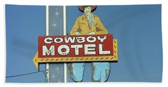 Route 66 - Cowboy Motel Beach Towel