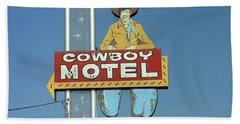Route 66 - Cowboy Motel Beach Sheet