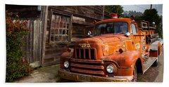 Rusty Beach Towel by Mark Alder